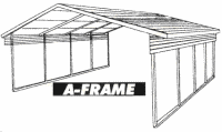 AFrame Carport Houston